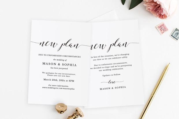 Thinking of Postponing Your Wedding?